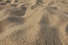 Textuur van het zand van Sardinige Stock Afbeeldingen