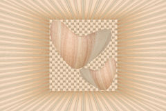 Textuur van houten achtergrond stock foto's