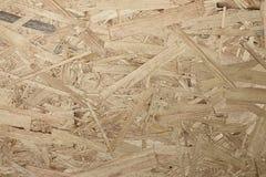Textuur van houten OSB-raad Stock Afbeelding