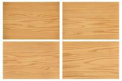 Textuur van houten patroon Royalty-vrije Stock Foto's