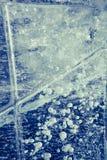 Textuur van ijs royalty-vrije stock fotografie