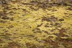 Textuur van Ijslandse bergen Royalty-vrije Stock Foto