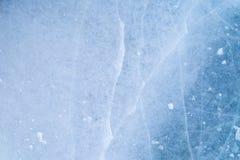 Textuur van ijsoppervlakte, bevroren water royalty-vrije stock foto's