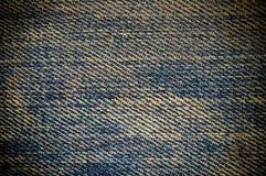 Textuur van jeans stock afbeeldingen
