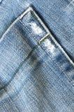 Textuur van jeans Stock Afbeelding