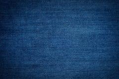 Textuur van jeans Royalty-vrije Stock Afbeeldingen