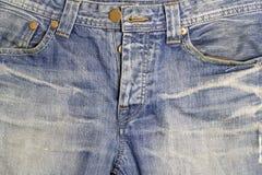 Textuur van jeanstextiel Royalty-vrije Stock Afbeeldingen
