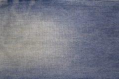 Textuur van jeanstextiel Stock Foto