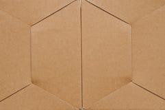 Textuur van kartondoos Stock Foto