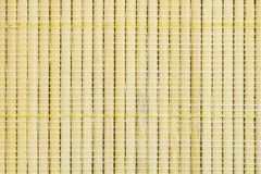 Textuur van kleine bamboe bruine kleur, handwork rieten mand, abstracte achtergrond Royalty-vrije Stock Foto