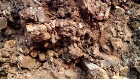 Textuur van kleine stenenachtergrond Stock Fotografie