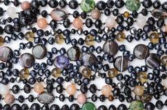 Textuur van kleurenparels royalty-vrije stock foto's
