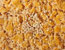 Textuur van koekje Stock Afbeeldingen