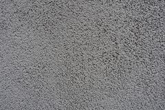 Textuur van korrelig grijs muur vooraanzicht stock foto's