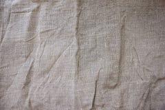 Textuur van linnen Stock Afbeelding