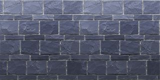 Textuur van marineblauwe grunge brickwall 3d geef terug stock fotografie