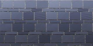 Textuur van marineblauwe steenmuur royalty-vrije illustratie