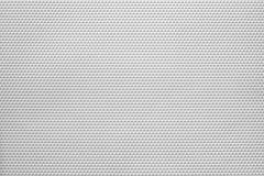 Textuur van materiaal geperforeerde bladen witte kleur Stock Fotografie