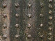 Textuur van metaal Stock Afbeelding