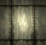 Textuur van metaal Stock Afbeeldingen