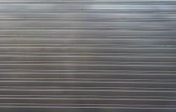Textuur van metaal het geprofileerde bladomheining decking Stock Afbeelding