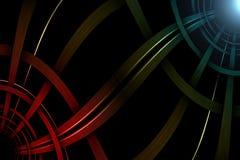 Textuur van metaallijnen Stock Afbeeldingen