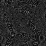 Textuur van moiré de abstracte naadloze geproduceerde huren Stock Foto
