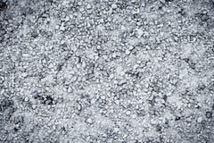 Textuur van natte grintweg Stock Afbeeldingen