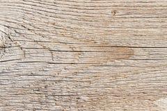 Textuur van natuurlijke oude doorstane houten raad met mooie krommen Close-up Uitstekende Rustieke achtergrond Stock Foto