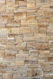 Textuur van natuurlijke zandsteenmuur Royalty-vrije Stock Afbeelding