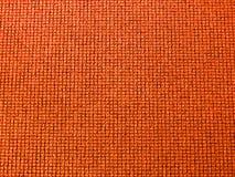 Textuur van oranje tapijt Stock Foto's
