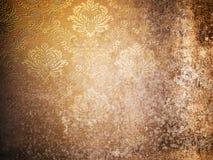 Textuur van oud behang Grunge Royalty-vrije Stock Afbeeldingen