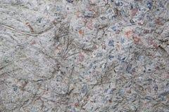 Textuur van oud beton Barsten en schade Grijze concrete achtergrond royalty-vrije stock foto's