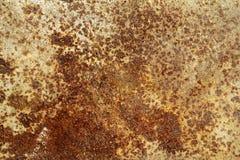 Textuur van oud en roestig metaal Stock Afbeeldingen