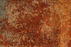 Textuur van oud en roestig metaal Royalty-vrije Stock Afbeeldingen