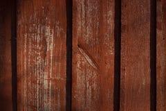 Textuur van oud hout met gebarsten verf van rode kleur stock afbeeldingen