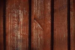 Textuur van oud hout met gebarsten verf van rode kleur royalty-vrije stock fotografie
