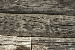 Textuur van oud hout met retro gaten stock fotografie