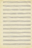 Textuur van oud muziekboek Royalty-vrije Stock Foto's