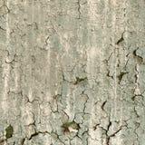 Textuur van oude beschadigde verf op een muur Stock Foto's