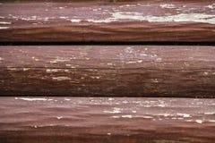 Textuur van oude droge houten raad met barsten en knopen royalty-vrije stock fotografie