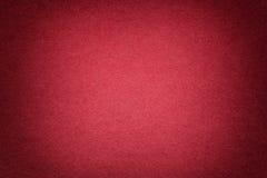 Textuur van oude heldere rode document achtergrond, close-up Structuur van dicht karton royalty-vrije stock afbeelding