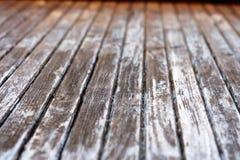 Textuur van oude houten deur Stock Foto's