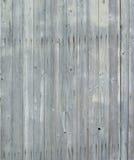 Textuur van oude houten lates met spijkers Stock Foto