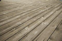 Textuur van Oude houten vloer Royalty-vrije Stock Foto's