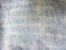 Textuur van oude jeans Stock Afbeeldingen