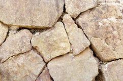 Textuur van oude rots Stock Foto's