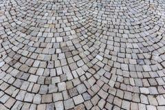 Textuur van oude steenbestrating Royalty-vrije Stock Fotografie