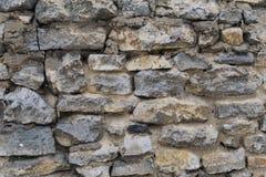 Textuur van oude steenmuren Stock Afbeeldingen