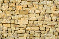 Textuur van oude steenmuur Stock Foto's